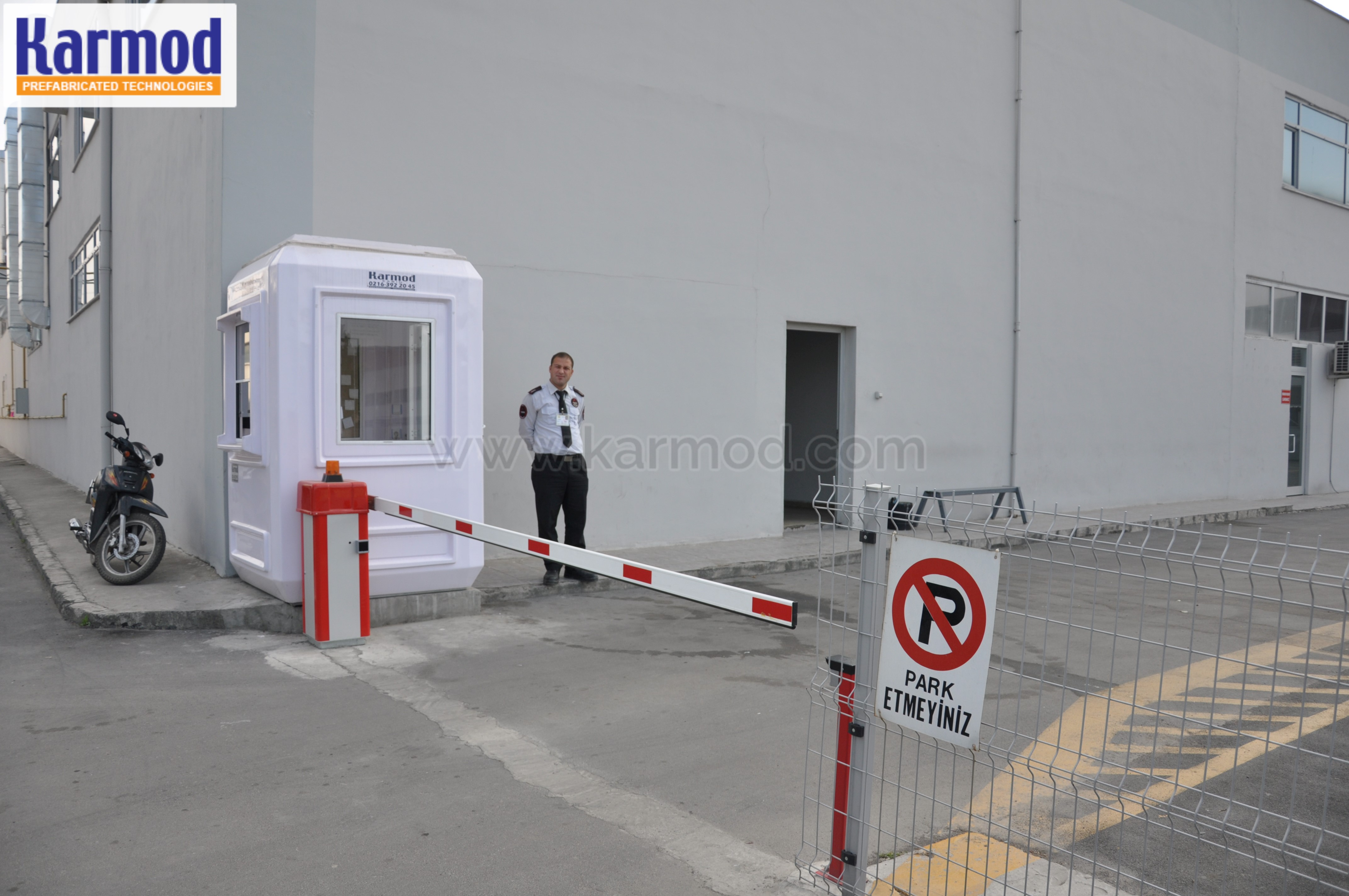 security booth rental