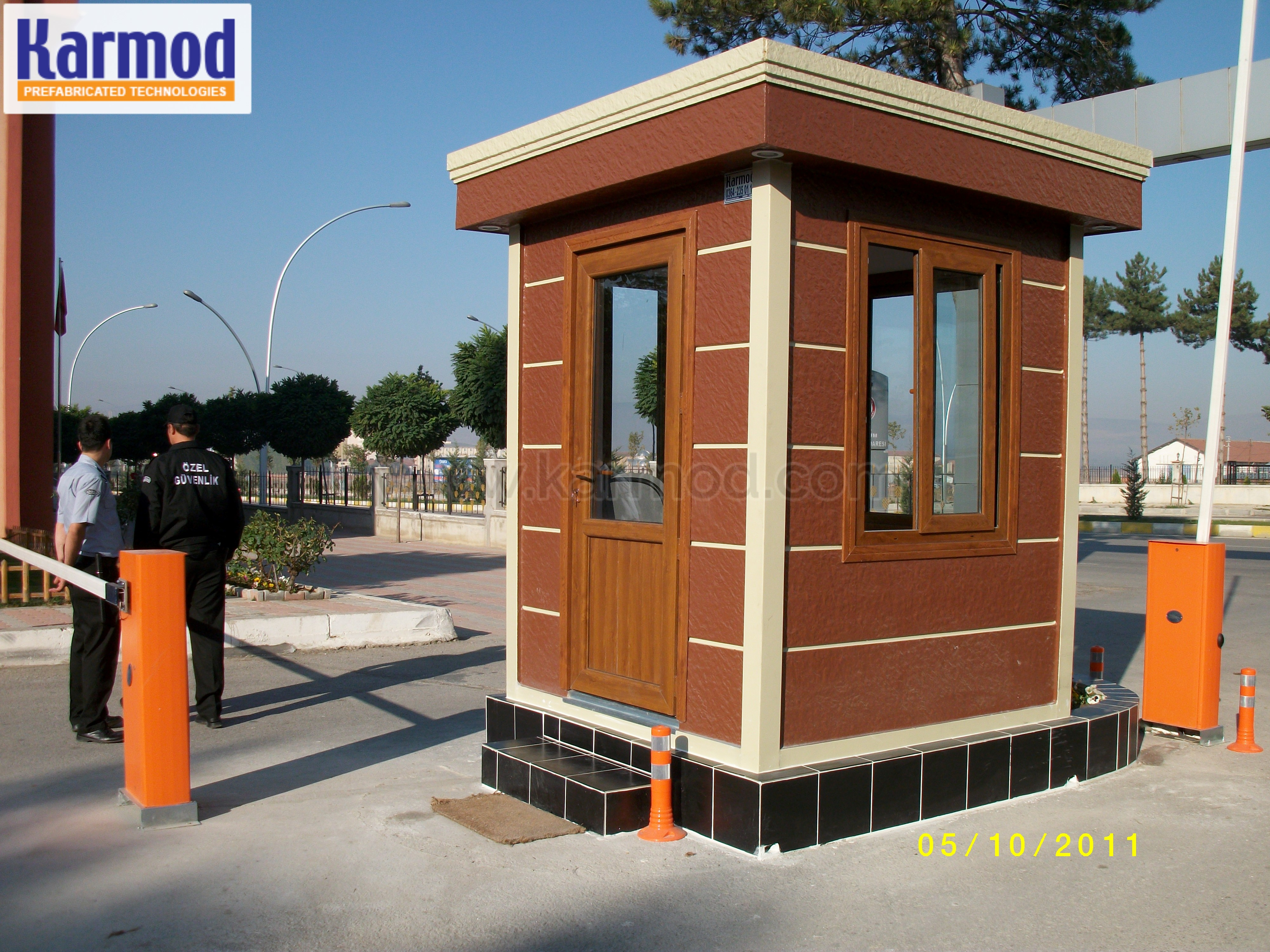 Security Control Booth