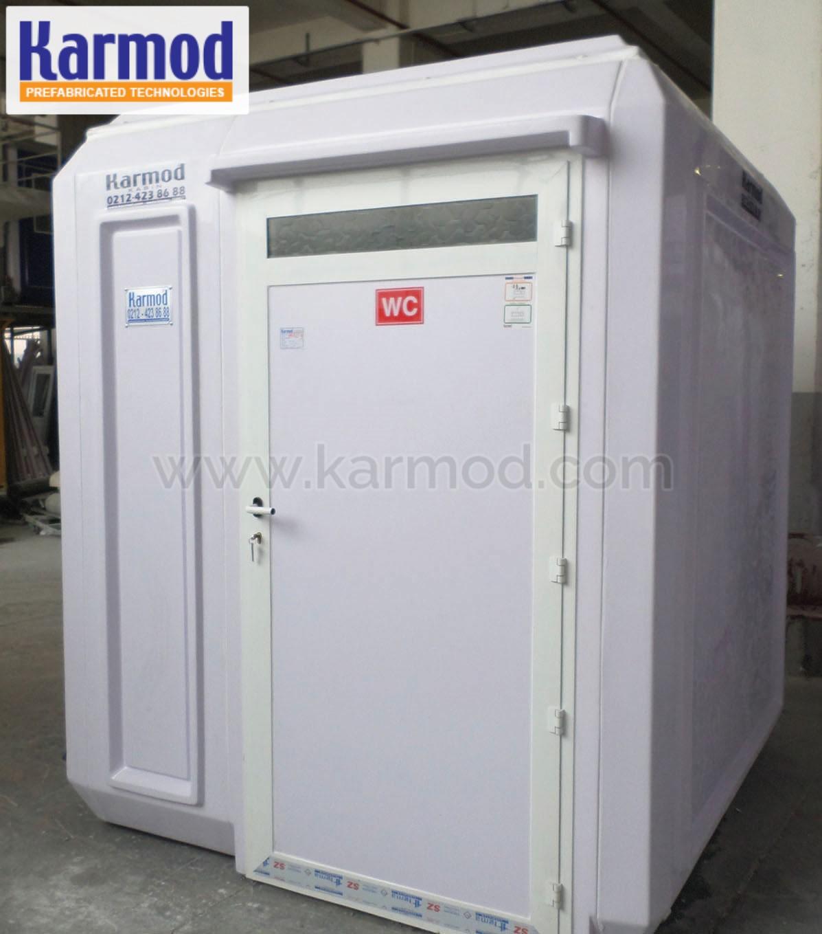 temporary restrooms