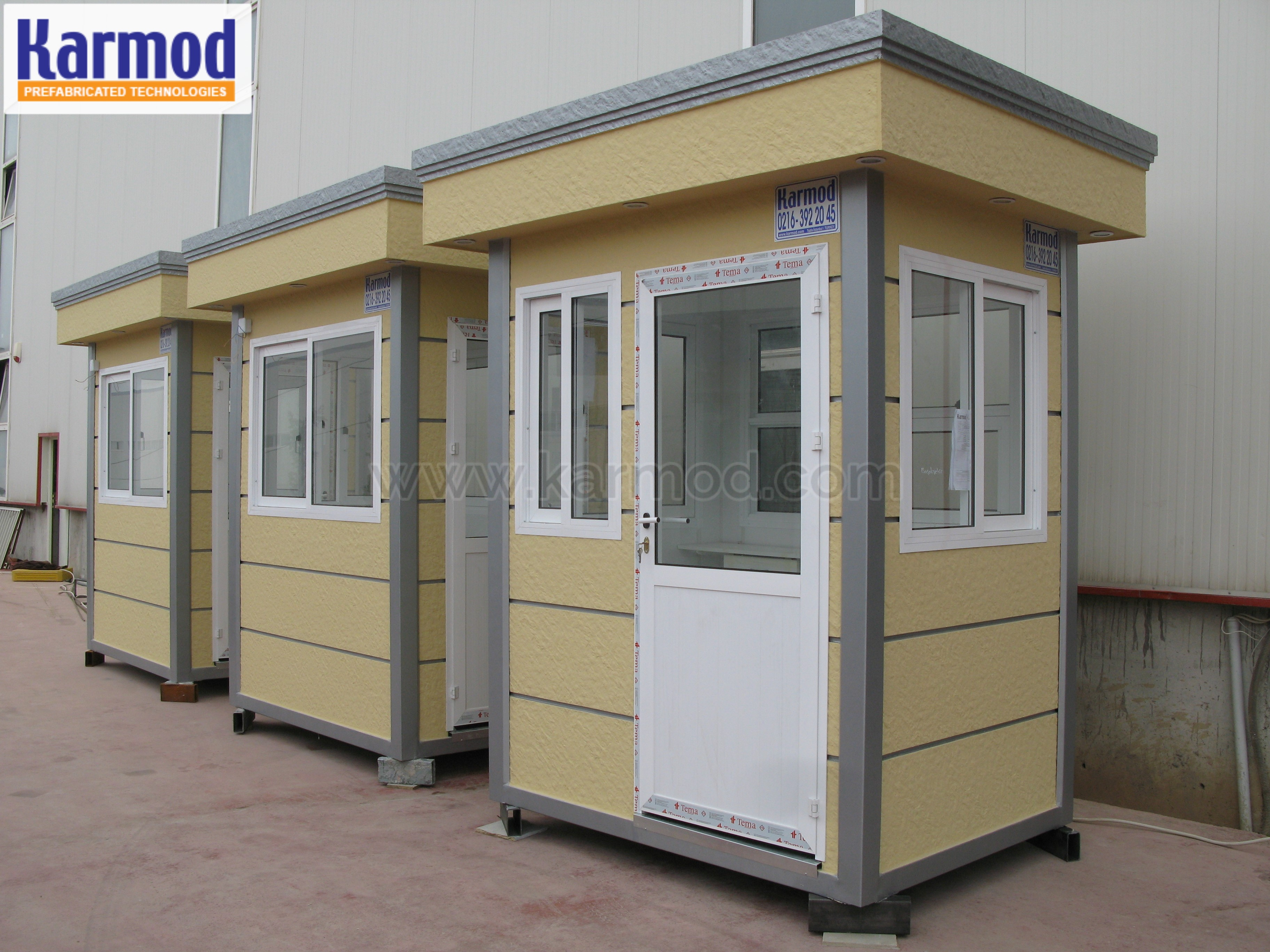 Valet Booths
