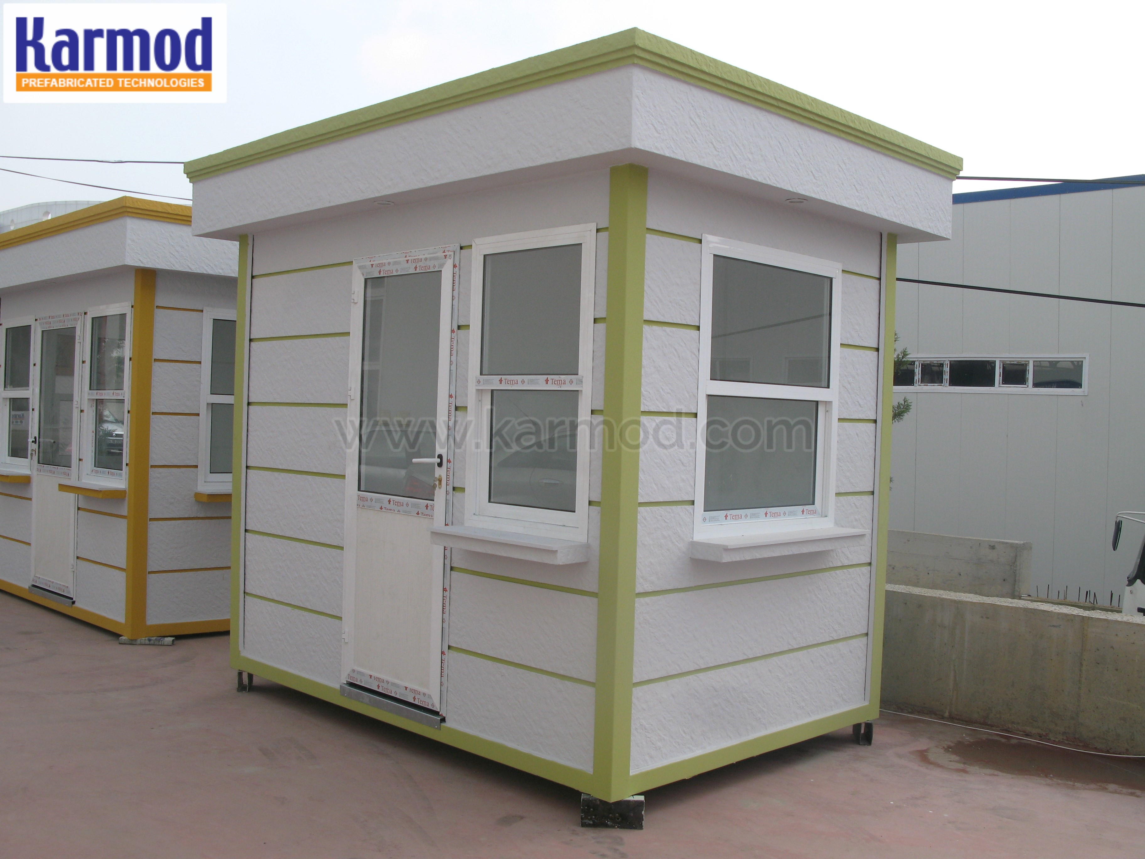 Valet guard Booths