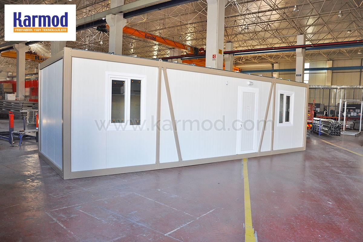 Container Per Ufficio Usati : Container abitativi usati moduli prefabbricati uso ufficio karmod
