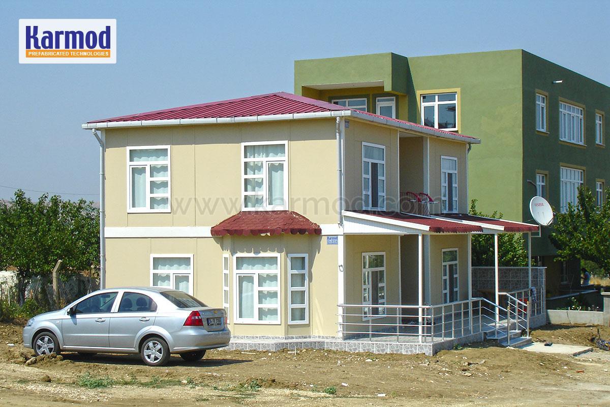 flat pack homes ghana