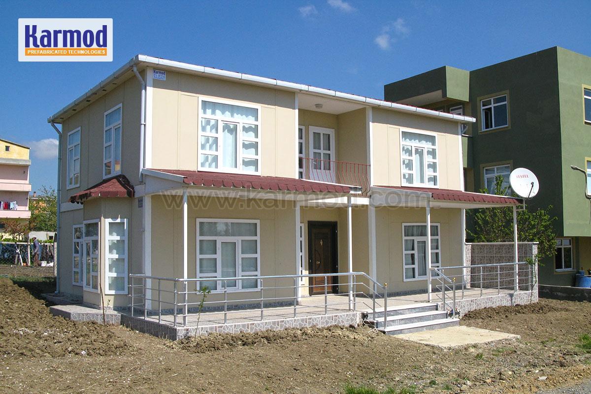 prefabricated villa ghana