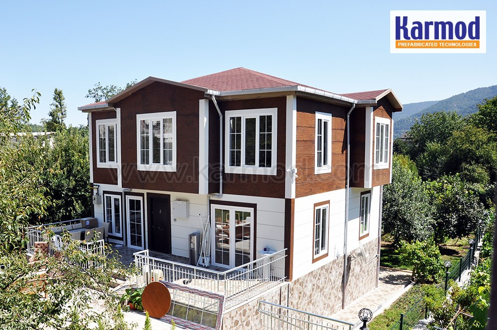 Prefabricated Houses Lebanon Social Housing Steel Karmod