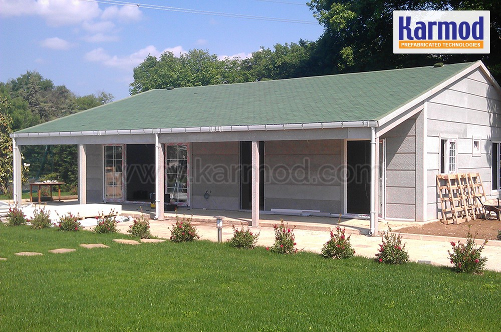 Affordable prefab home kits metal building homes karmod for Home building kits