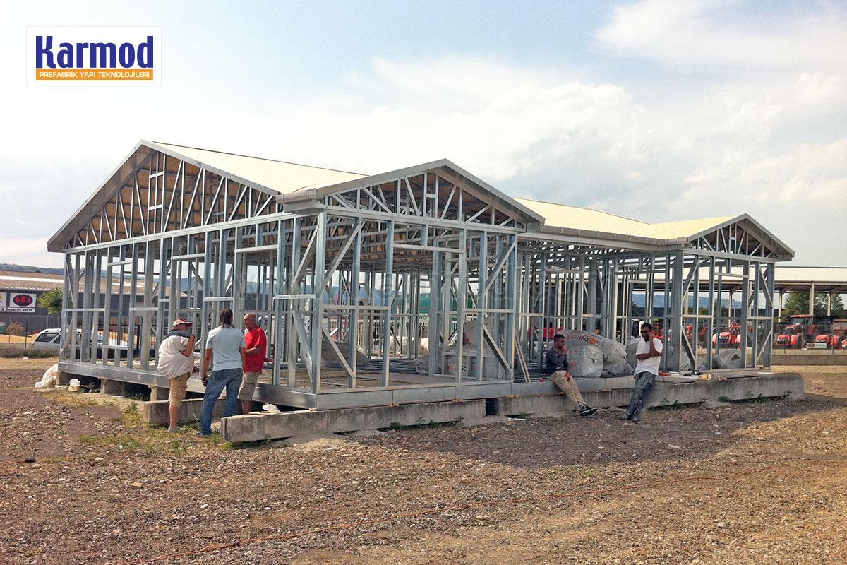 metal frame houses cyprus