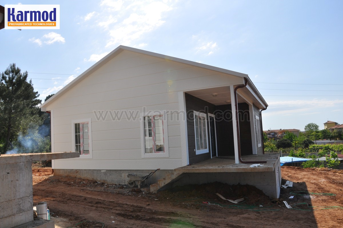 prefabricated houses botswana