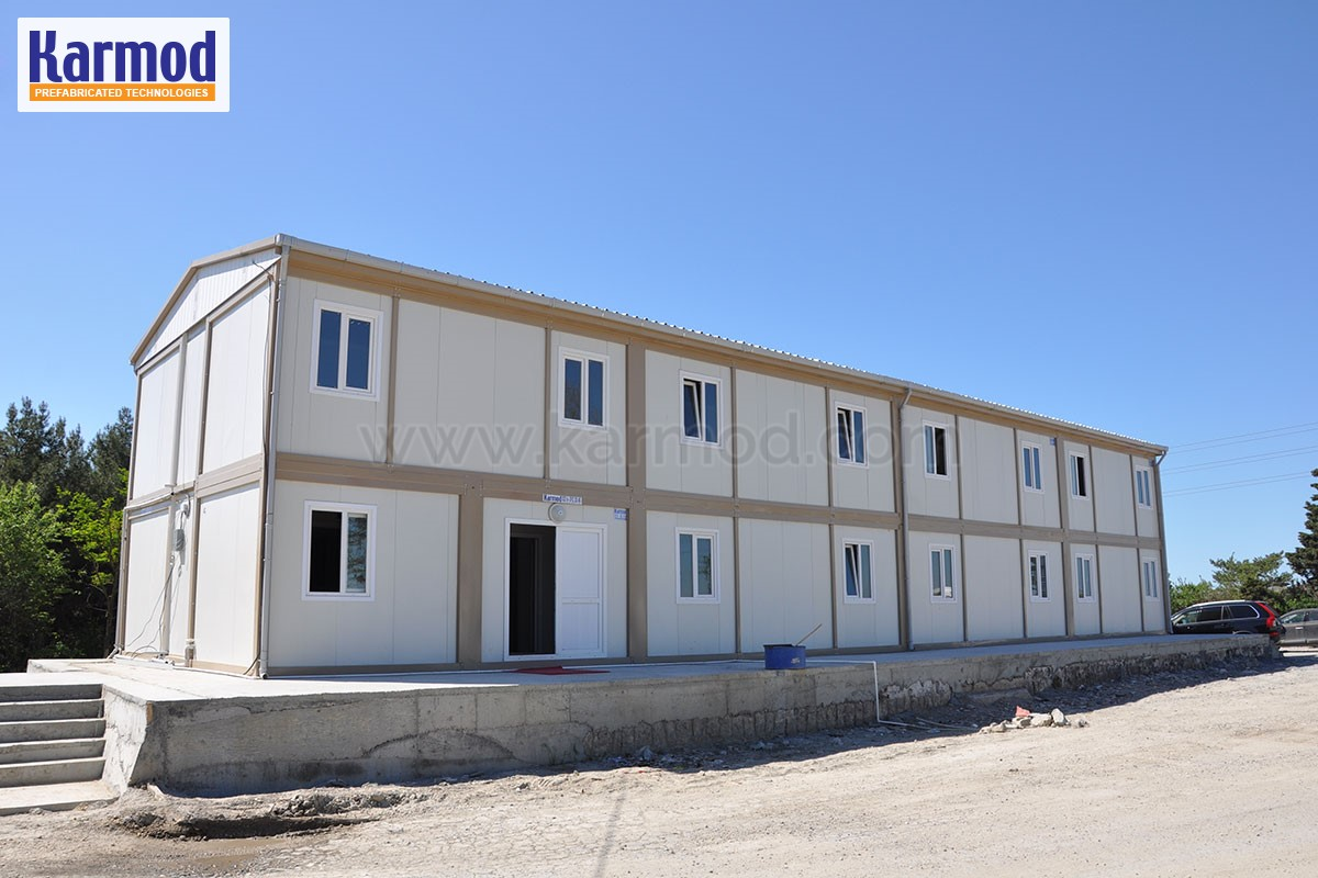 double storey container homes