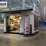 prefabricated food kiosks new zealand