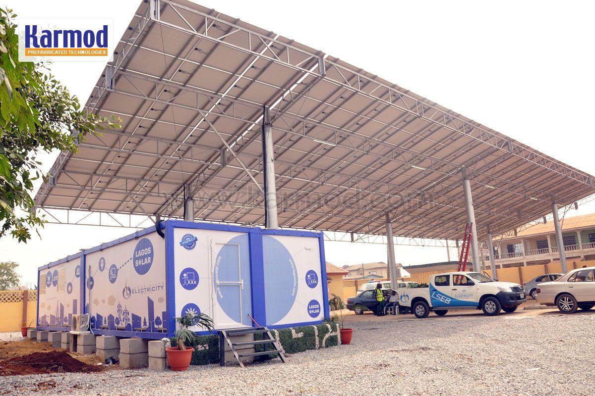 solar panel portacabin nigeria