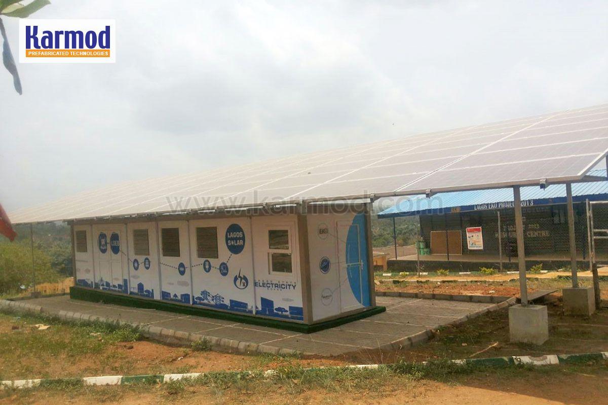 solar panels per container nigeria