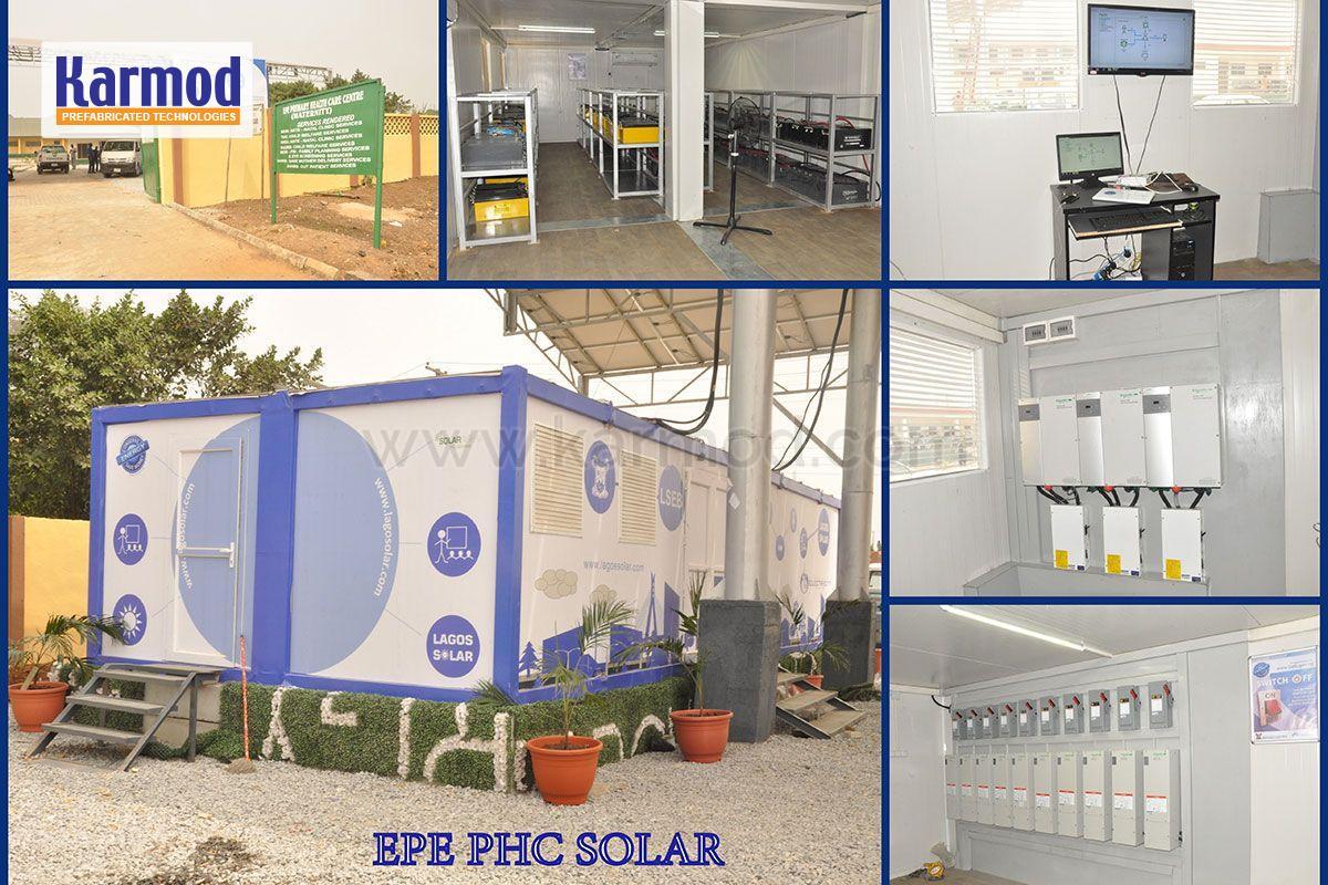 solar panels per container