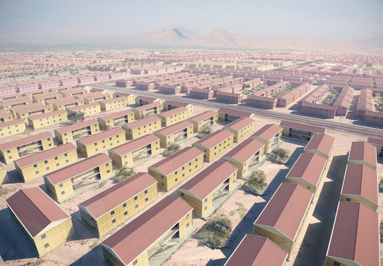 prefab multi family homes jordan