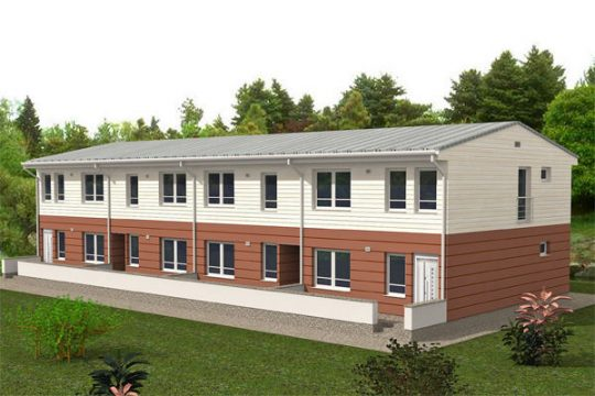 Modulární výstavby , Administrativní budovy