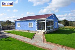 galvanized steel frame house