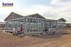 Steel frame house nepal