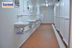 מכולות מקלחות למכירה