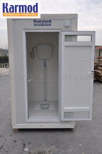 frp fiber mobile toilet india