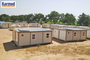 coronavirus mobile clinics cabins