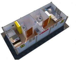 coronavirus mobile medical cabins