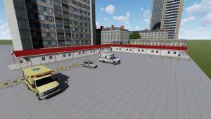 temporary modular hospitals
