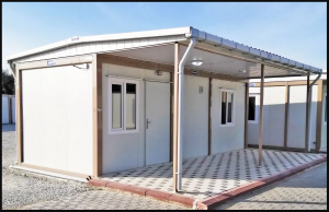 Container homes in zambia