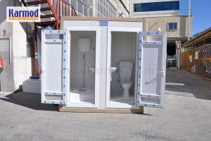 portable toilets zambia