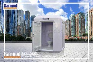 Portable toilet cabins Zambia