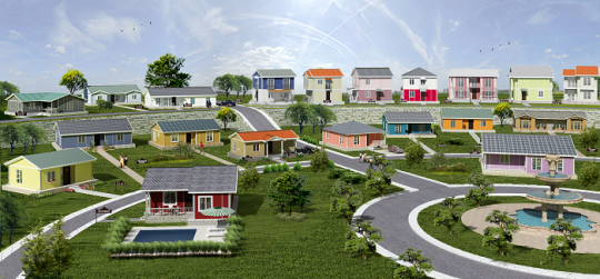 Low cost housing projects in Uganda