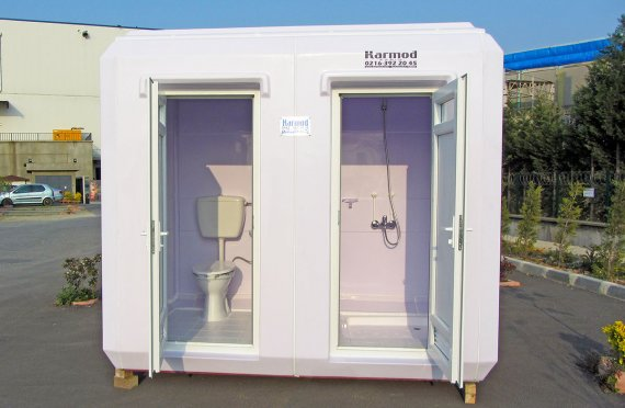 150x270 Portable Toilet&Shower Cabin