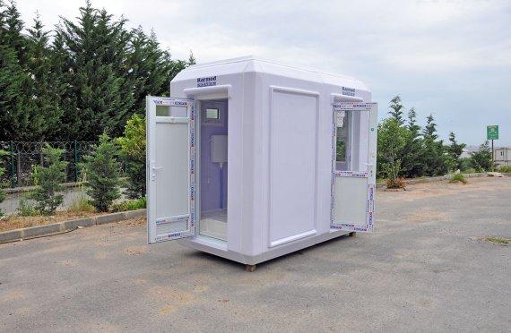 150x270 Portable Toilet & Security Cabin