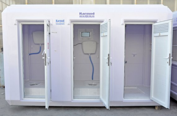 150x390 Portable Toilet&Shower Cabin