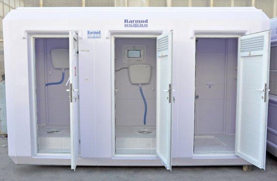 150x390 Portable Toilet & Shower Cabin