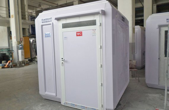 215x215 Portable Disabled Toilet Cabin