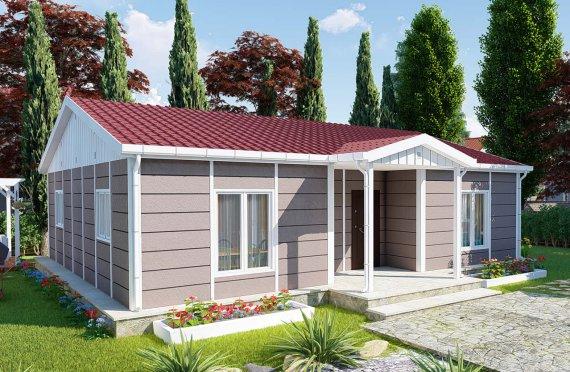 95 m2 Mini Modular Villa