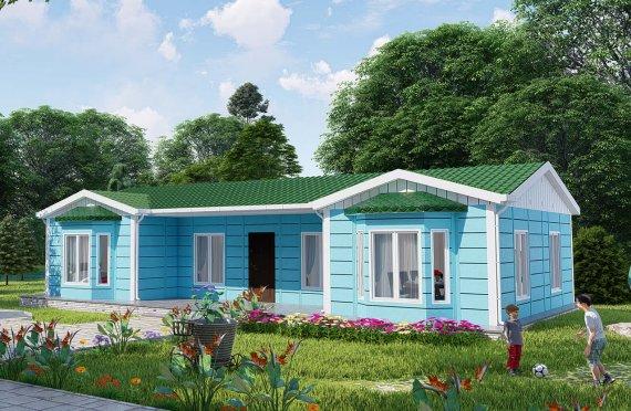 97 m2 Modular Family Houses