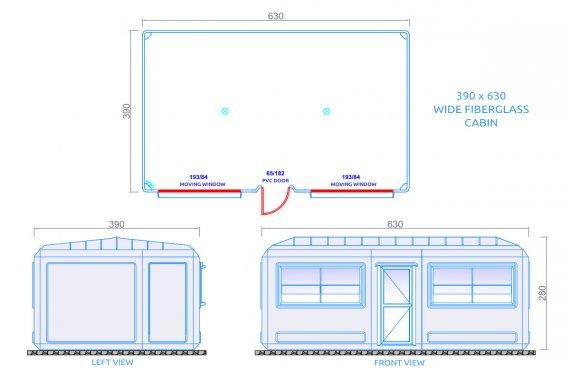cabin toilet plans