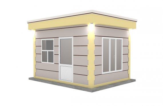 Modern Prefab Cabin 300x400