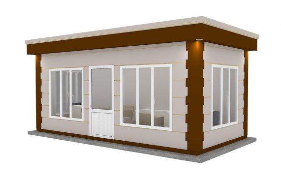 Modern Prefab Cabin 300x600