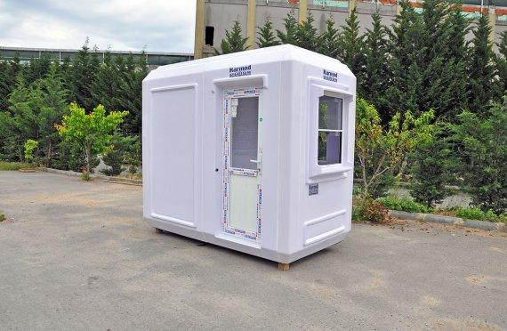 grp toilet cabin