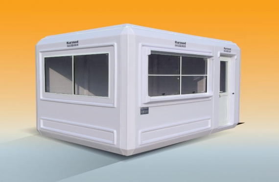 270 X 390 Security Cabin