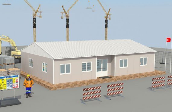 Mobile site offices | Staff Accommodation | Mine Labor Camps