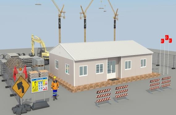 Modular Office Building 125 m²
