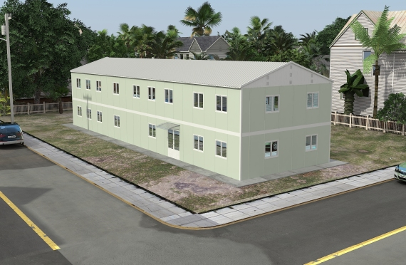 Modular Office Building 463 m²