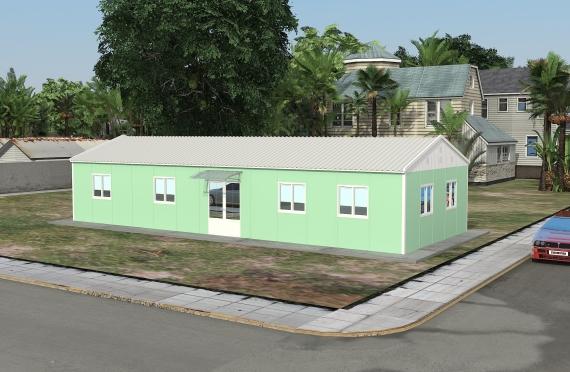 Modular Office Building 106 m²