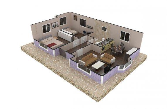 pre build house