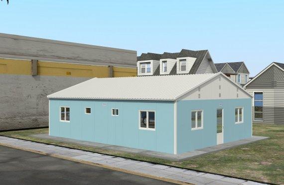 Modular Accommodation Unit 102 m²