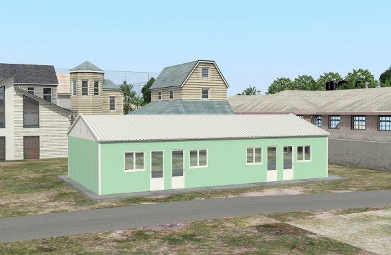 Modular Accommodation Unit 117 m²