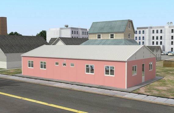 Modular Accommodation Unit 148 m²